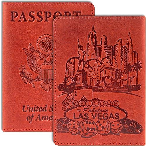 Unisex Long Wallet (Deep Red) - 3