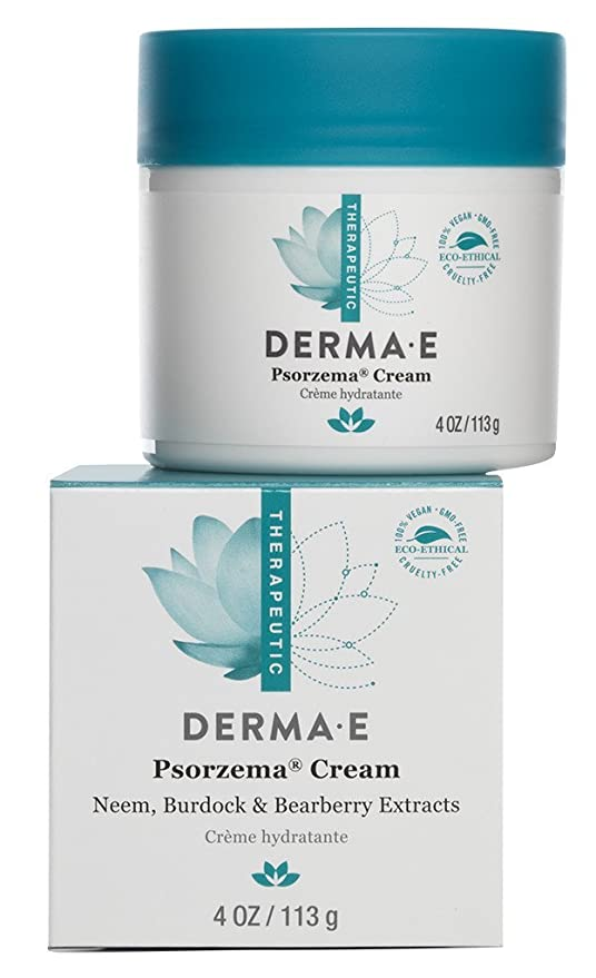 derma e Psorzema, Natural Relief for Scaling, Flaking, and Itching, 4 Ounce (113 g) by Derma E: Amazon.es: Belleza
