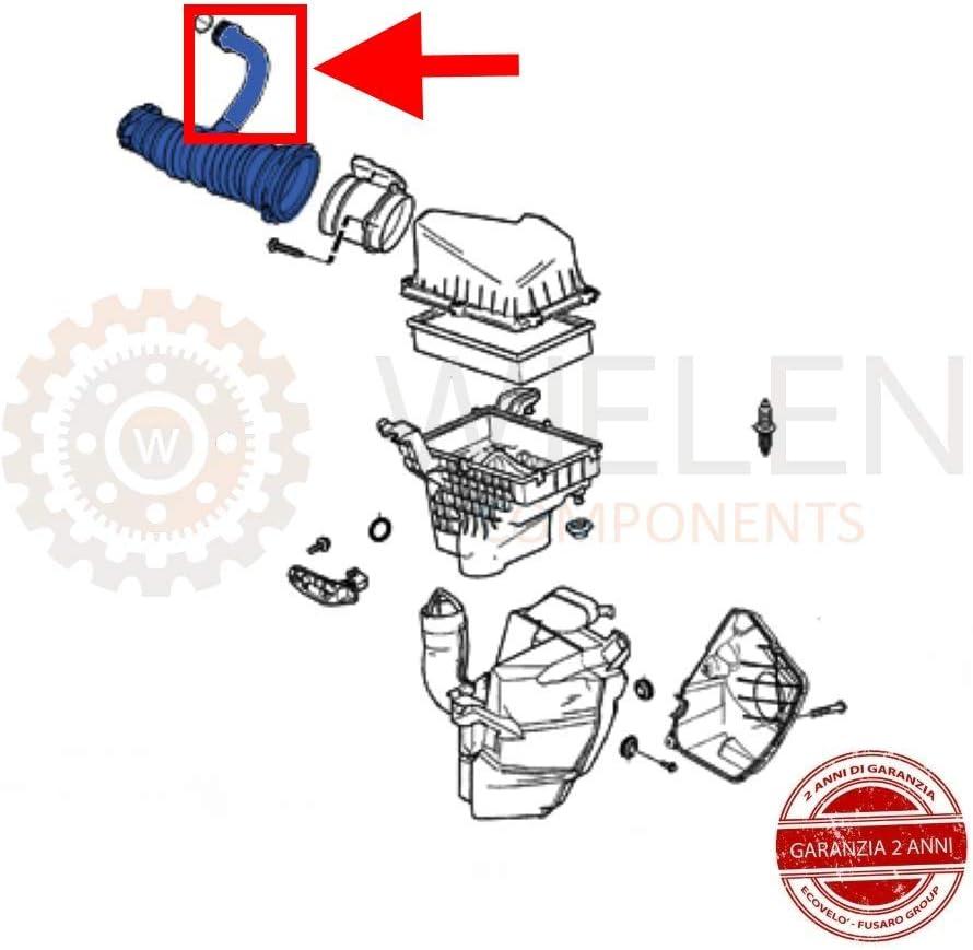S40 1.6 D Saugschlauch Turbine Luft 1336611 3M519A673MG 3M519A673M 30680774 part2 Kompatibel mit F O R D Focus C Max 1.6 TDCI