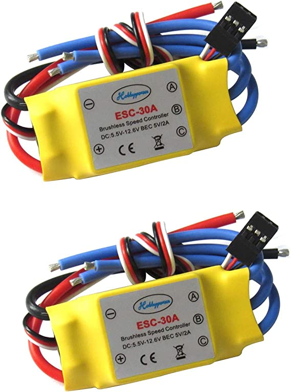 30A Brushless Motor Speed Controller ESC 1 Pc for RC Helicopter Car Boat