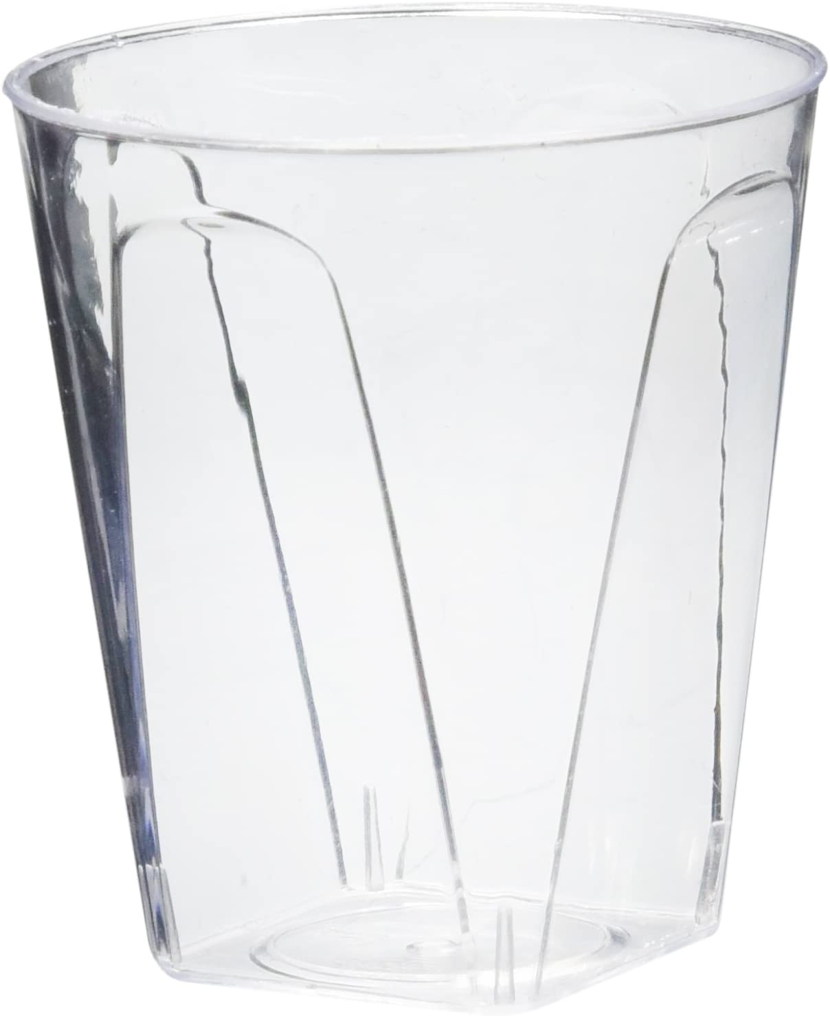 Stars and Stripes 40-Count Printed Hard Plastic 2-Ounce Shot Glasses