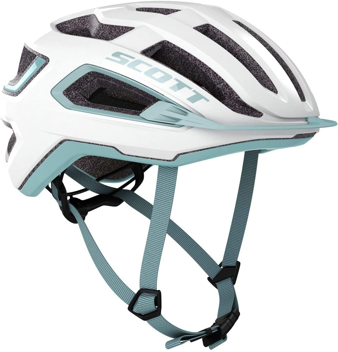 Scott Arx 2020 - Casco de Ciclismo, Color Blanco: Amazon.es ...