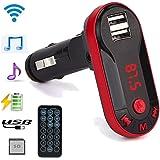 Creazy Bluetooth Wireless FM Transmitter MP3 Player Handsfree Car Kit USB TF SD Remote