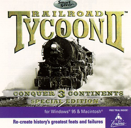 Railroad Tycoon II: Conquer 3 Continents (Special Edition) (Railroad Tycoon 3)