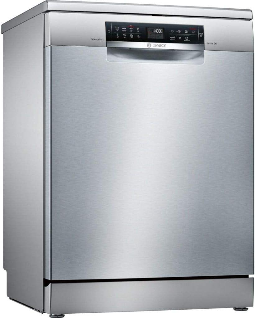 Bosch Serie 6 SMS68II07E lavavajilla Independiente 13 cubiertos A+++ - Lavavajillas (Independiente, Tamaño completo (60 cm), Acero inoxidable, Acero inoxidable, Tocar, 1,75 m)