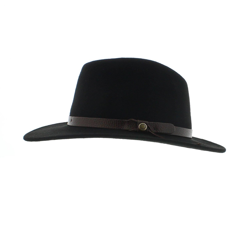 Votrechapeau Fedora-Cappello-Pennarello Amance impermeabile, colore: nero