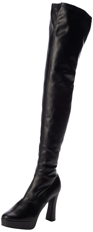 Pleaser Electra-3000z Damen Kurzschaft Stiefel Stiefel Stiefel Schwarz (Schwarz (Blk Str Faux Leder/Blk Matte)) 419b28