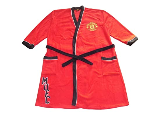 Mens Dressing Gown Robe Manchester United XXL: Amazon.co.uk: Clothing