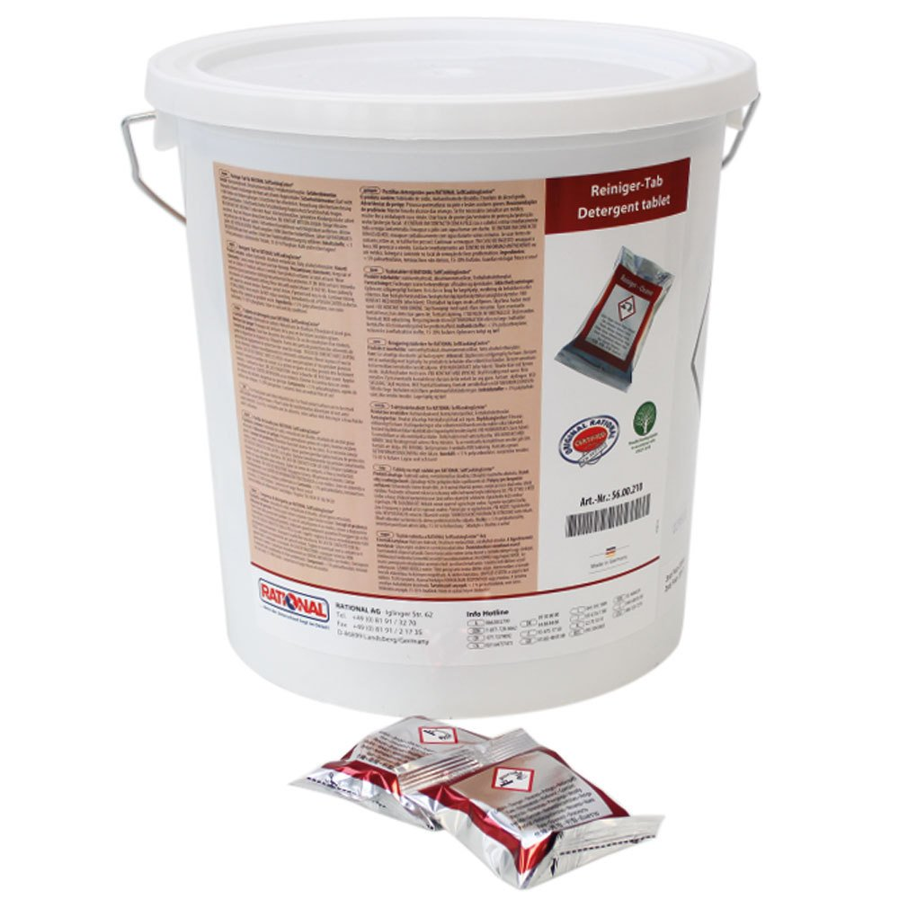 Rational 56.00.210 Cleaning Tabs for SelfCooking Center Appliances, 100 Tabs