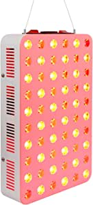 300W LED Red Light Therapy Lamp Red 660nm and Near Infrared 850nm Full Body Light Therapy for Muscle & Joint Pain Relief & Recovery, Skin Rejuvenation, Skin Care