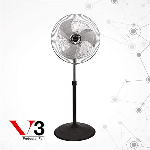 1. Havells V3 Yurbo 450mm Pedestal Fan