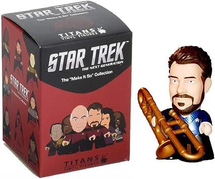 Star Trek TNG Titan Vinyl Figures