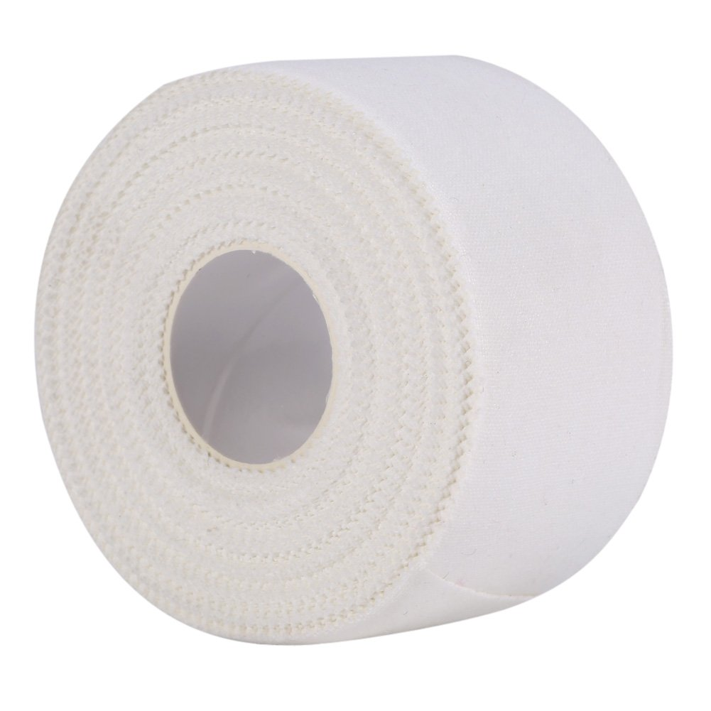 Professional Athletic Sport Tape Trainer Care Binding Strapping Joints Support White