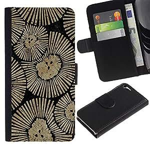 Be Good Phone Accessory // Caso del tirón Billetera de Cuero Titular de la tarjeta Carcasa Funda de Protección para Apple Iphone 5 / 5S // Wall Design Art Inspiration