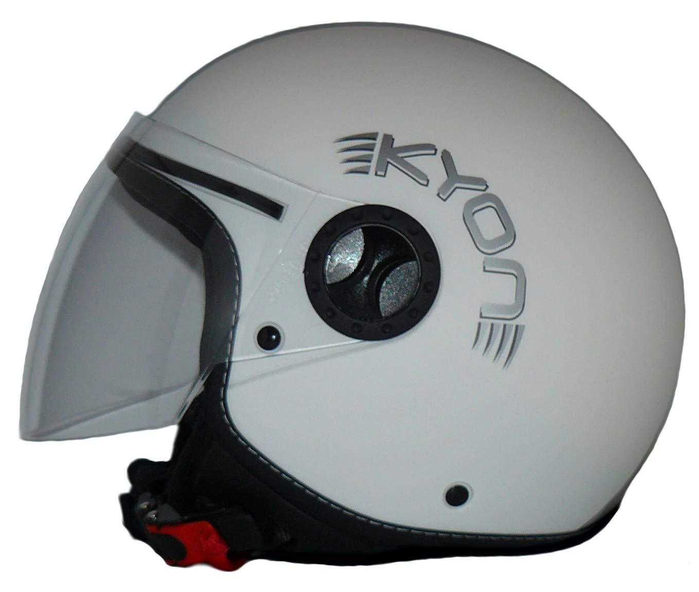 M Casco aperto con strisce H730 design pilota Protectwear
