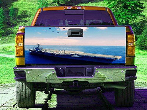 Marine Corps America navy Tailgate Wrap, Truck Decal, Tailgate Sticker gc3019