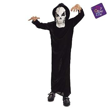 VIVING - Disfraz Fantasma de la muerte7-9 años: Amazon.es ...