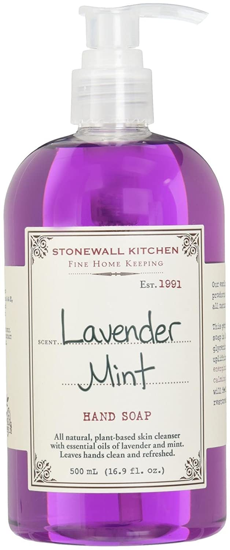 Stonewall Kitchen ラベンダーミントハンドソープ、16.9オンスボトル B000WZSB36