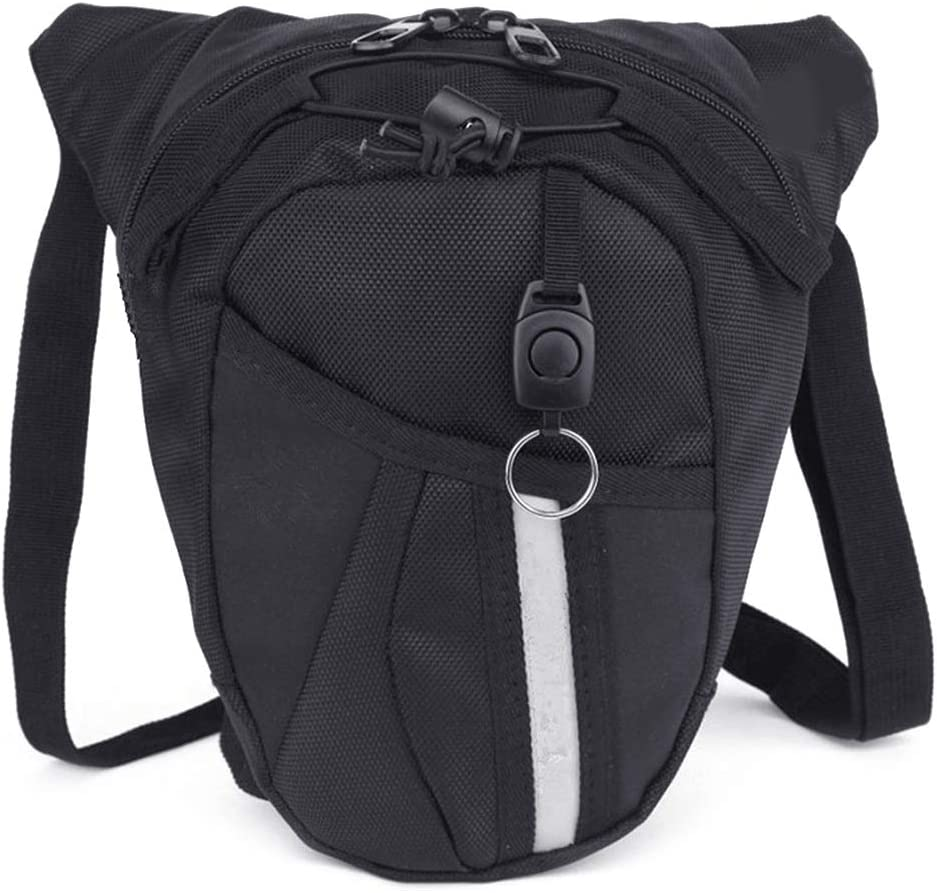 B07M9MWJTN Fanct Outdoor Bag Leg Drop Motorcycle Waist Pack Unisex Fanny Thigh Belt Bike Bags 71IhRM8IZiL