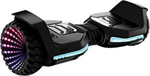 Jetson Self Balancing Hoverboard with Active Balance Technology Ages 13+ Black