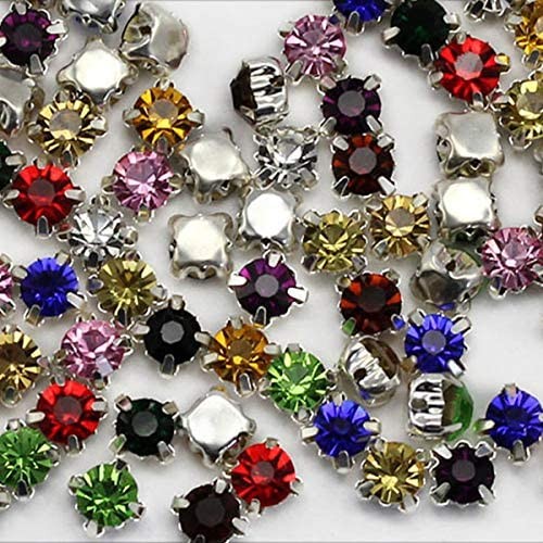 Mixed size colour Bargain Bag CRAFT Post Free Vintage Navette Rhinestone 50