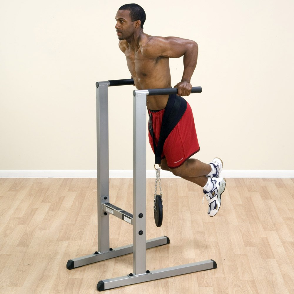 amazon com body solid gdip59 dip station dip stands sports