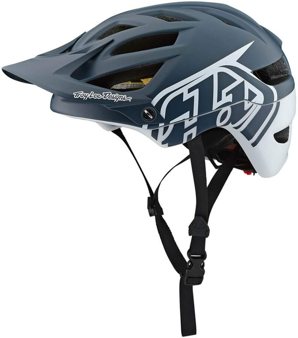 Troy Lee Designs Enduro-MTB Helm A1 MIPS Classic Rot//Silber