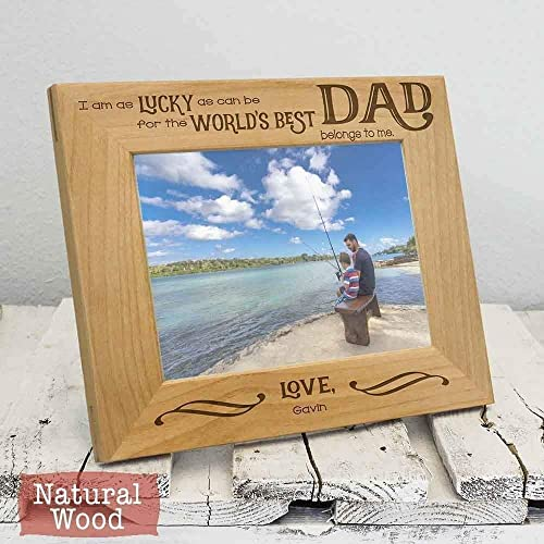 personalized worlds best dad frame personalized christmas gifts for dad christmas gifts for him