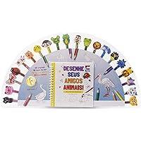 Desenhe Seus Amigos Animais - Um Livro-kit Divertido!