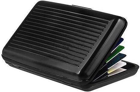 Blocking Hard Wallet Business ID Credit Card Case Holder Anti RFID Scanning UK