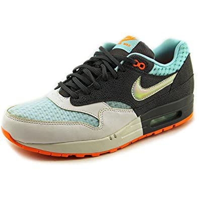 info for 2d33a cb9b5 Amazon.com   NIKE Women s Wmns Air Max 1 PRM, Hologram-WHITE MTLLC  SIVLER-DARK GREY-GLCR, 11 M US   Road Running