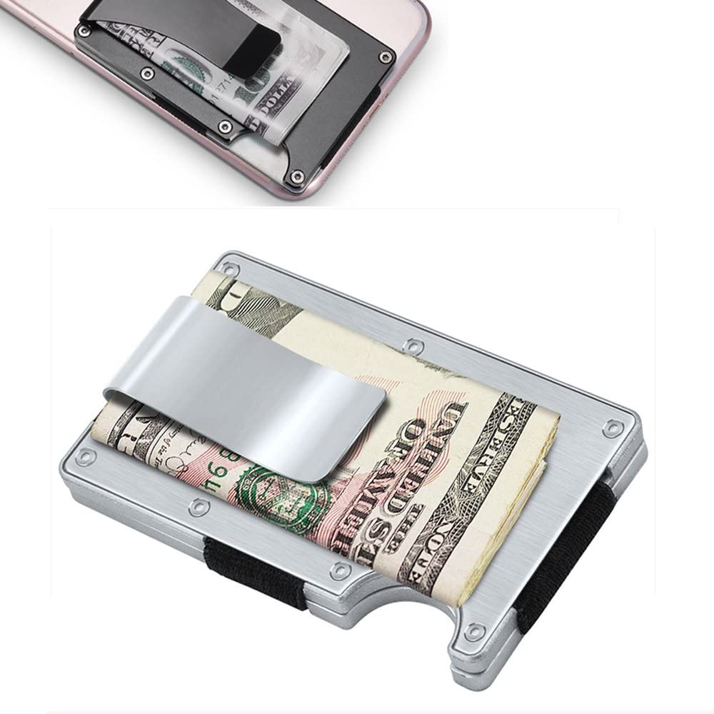 2 RFID Blocking Wallet Aluminum Identity Protection Credit Card Case