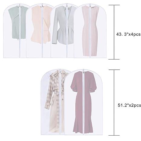 Amazon.com: PENGKE Bolsas de ropa a prueba de polillas ...