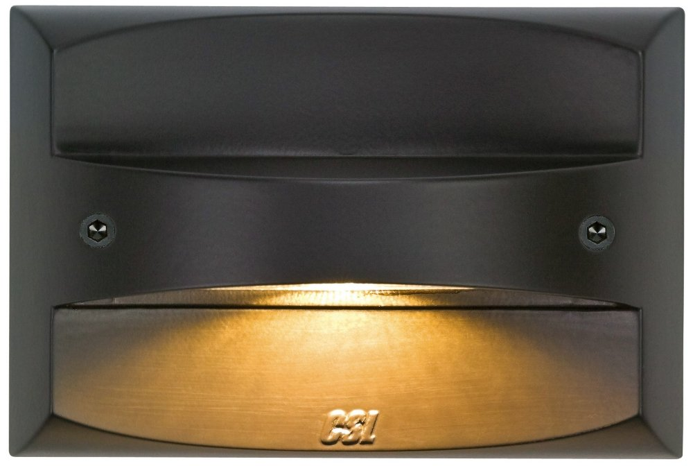2 Light LED Step Light Finish: Bronze
