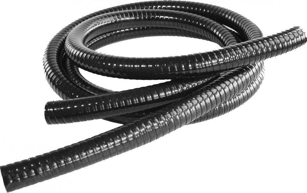Teich-Spiralschlauch Schwarz Länge 50 m Anschluss 19 mm = 3/4' Teichschlauch