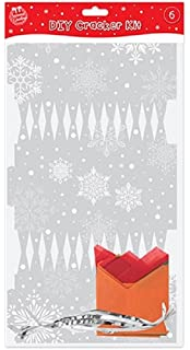 Make your own gold christmas crackers pack of 6 amazon make your own silver christmas crackers pack of 6 solutioingenieria Images