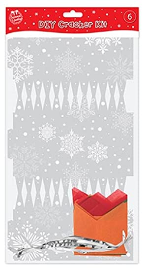 Make your own silver christmas crackers pack of 6 amazon make your own silver christmas crackers pack of 6 solutioingenieria Images