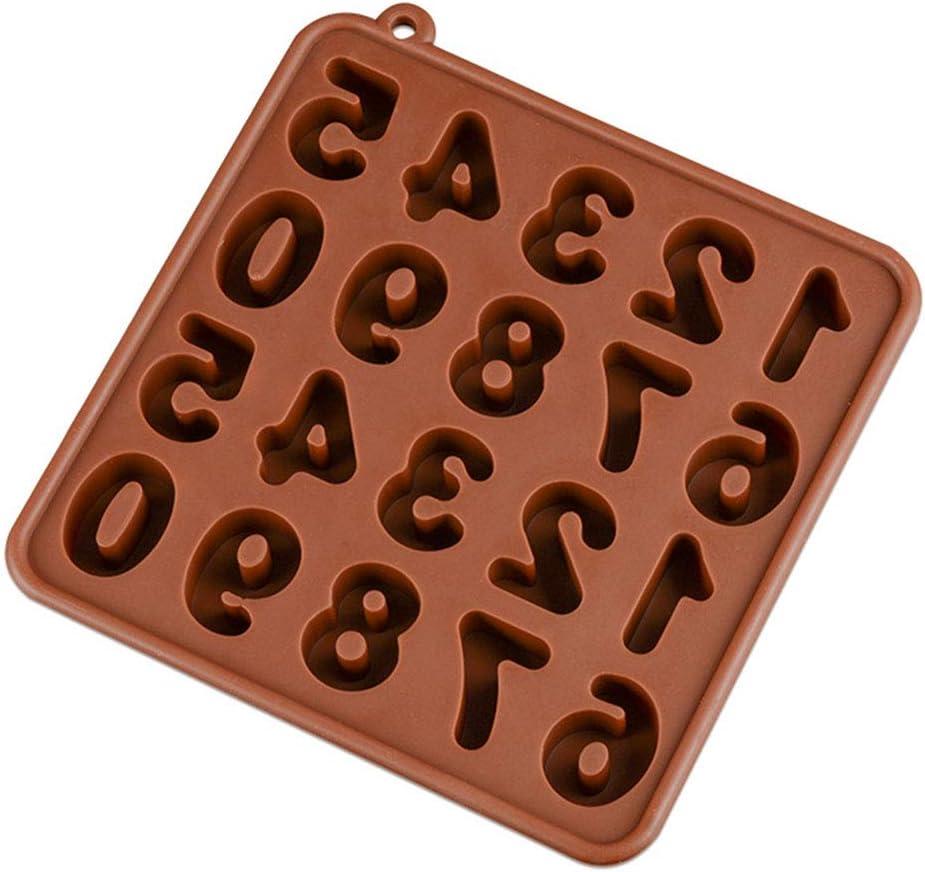 KBstore 2 Pack Moldes de Bombones de Silicona Forma de Corazon Frijol Molde de Silicone para Chocolate//Caramelo de Caf/é//Cubo de Hielo//Gelatina//Mini Jabon #3