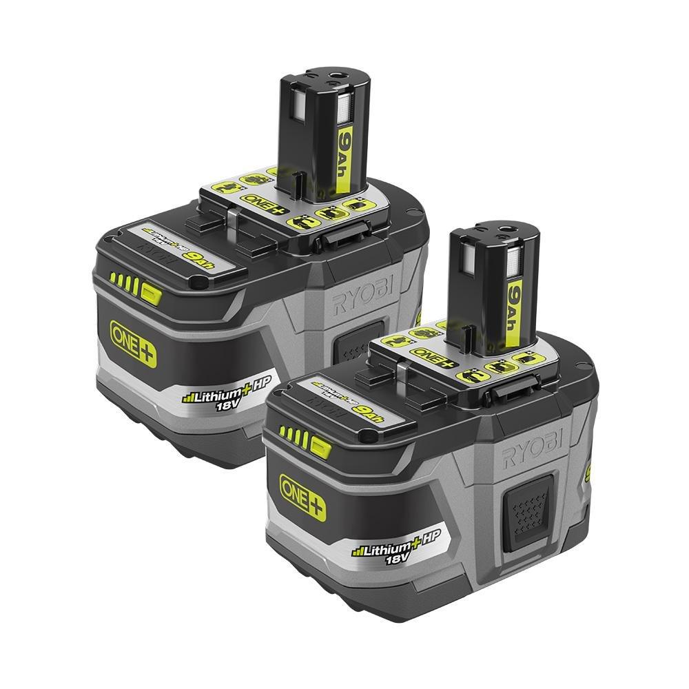 2 Baterias Originales RYOBI P194 18v 9.0ah