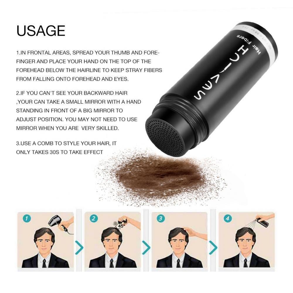 Amazon.com: Fibras de pelo, Profesional de aplicación de ...