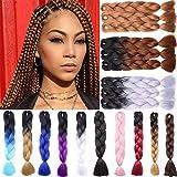 Jumbo Braiding Hair 3pcs/lot Jumbo Braid full head Hair Extensions Resistant High Temperature