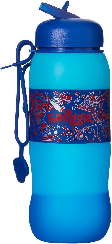 Smiggle Borraccia in silicone Azzurro colore