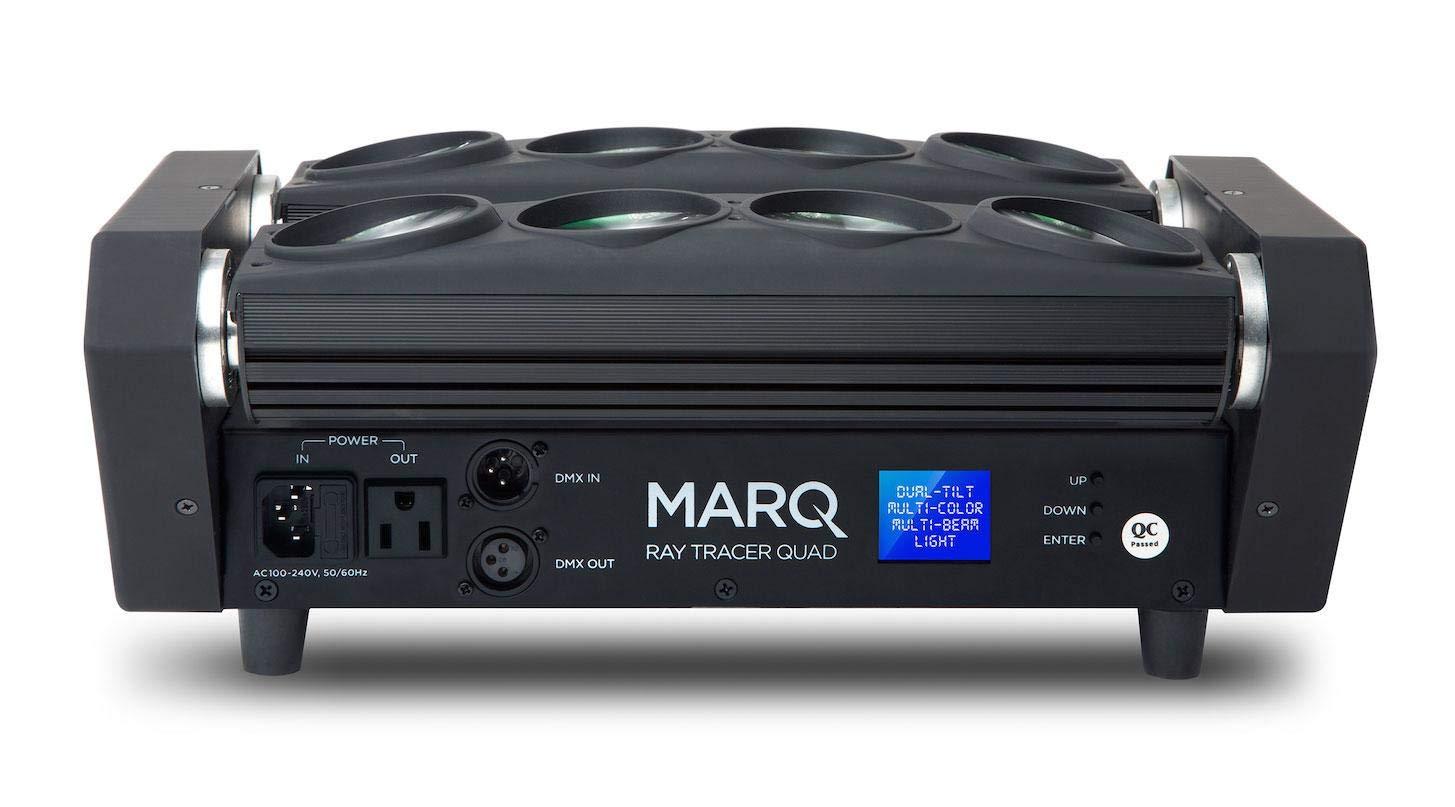 Marq Lighting Ray Tracer Quad DJ Set (dos chase-Lichteffekte con ...