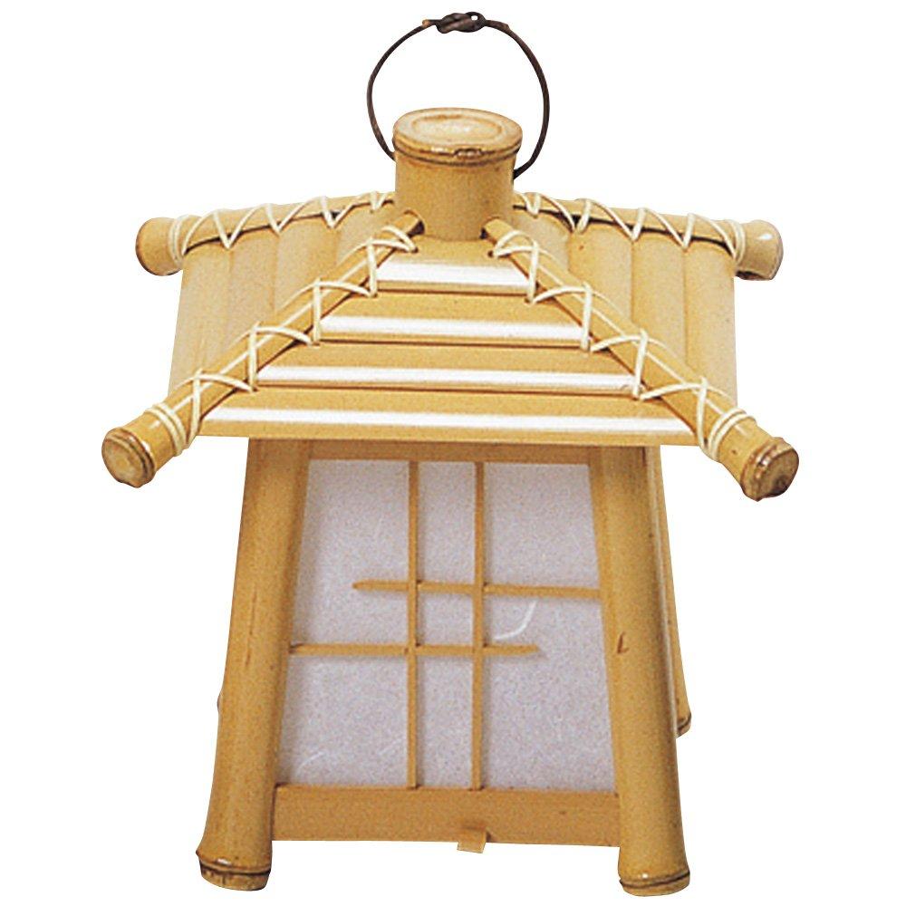 山下工芸(Yamasita craft) 日本製 晒竹ランタン 小 25133000 B01MRP5X6U 小|タイプ:ランタン 小