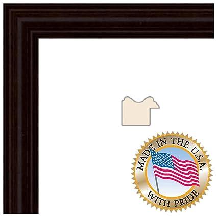 Amazon.com - ArtToFrames 10x15 inch Walnut Stain on Hard Maple Wood ...