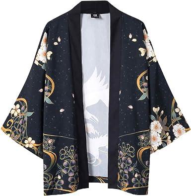 Morran Blusa con Mangas japonesas de Cinco Puntos de Kimono para Hombre y para Mujer: Amazon.es: Ropa y accesorios