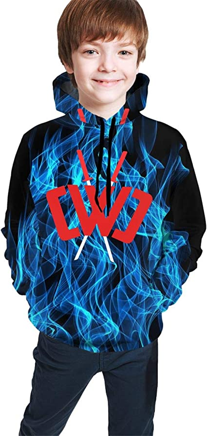 Cwc Chad Wild Clay Hoodies Boys Girl Novelty 3D Print Hooded Sweatshirts