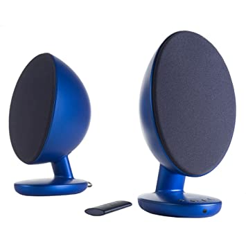 kef egg. kef egg versatile desktop speaker system - frosted blue (pair) kef egg