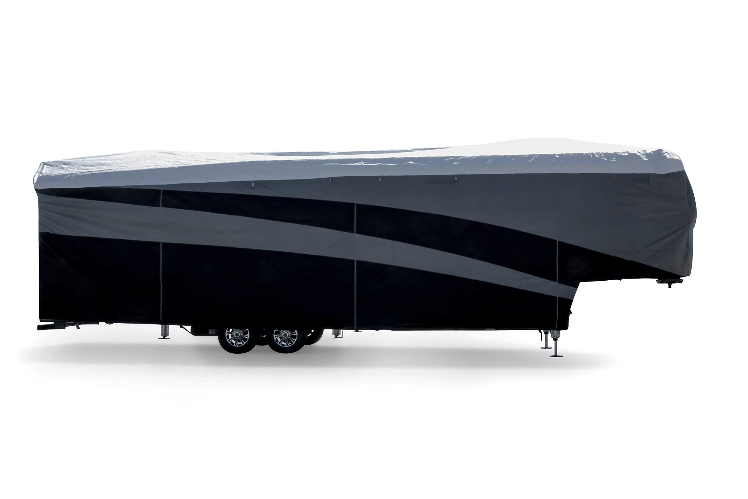Camco ULTRAGuard Supreme RV Cover-Extremely Durable Design Fits Fifth Wheel Trailers 34' -37', Weatherproof with UV Protection and Dupont Tyvek Top (56150) by Camco (Image #3)