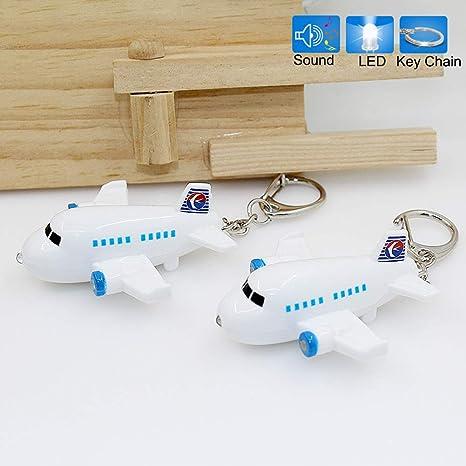 MAJGLGE Llavero de Coche con diseño de avión, Ideal como ...